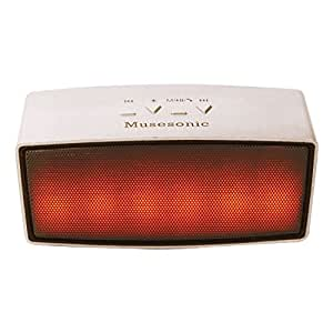 Musesonic Tunestar Wireless Bluetooth Speaker With Dancing Multiple Color LED, & Pen drive,Memory card Direct Song Play