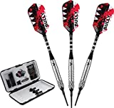 Viper Bully Two Ringed Tungsten Soft Tip Darts, 18 Grams by Viper R/C