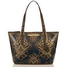 Medium Asher Tote<br>Navy Fresco