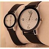 2本セットでこの価格 人気ペアウォッチ ユニセックス クォーツ時計 さりげなくカップルを演出 シンプルだからフォーマルなファッションにも合う