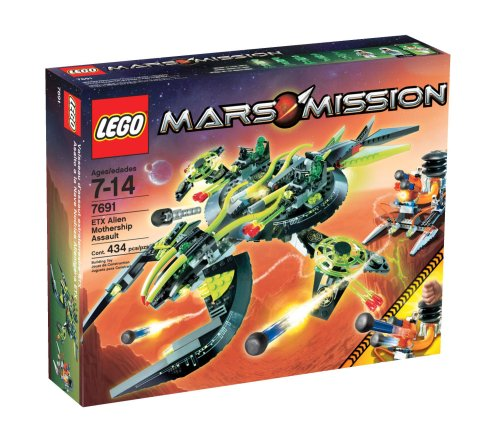 LEGO® Mars Mission EXT Alien Mothership Assault Amazon.com