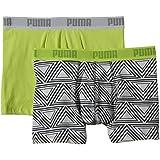 PUMA Herren Boxershorts Retro Triangled Boxer 2P