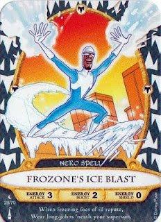 Sorcerers Mask of the Magic Kingdom Game, Walt Disney World - Card #28 - Frozone's Ice Blast