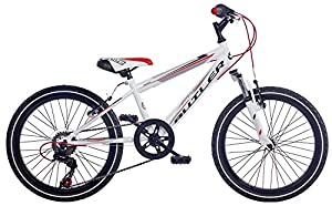 Claud Butler Torment Boys 20 inch Wheel White Junior Bike by Claud Butler