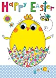 Rachel Ellen Chick In Egg Easter Card