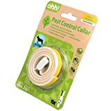 OHH New Natural Essential Oil Pest Control Collar Repel Flea Tick for Dog Puppy (Yellow)