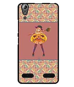 Fuson 2D Printed Girly Designer back case cover for Lenovo A6000 Plus - D4265