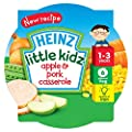 Heinz Little Kidz Apple and Pork Casserole 230 g (Pack of 5)