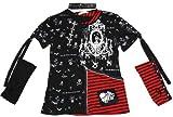 【ファッション】【トップス】【ドクロ】シャンデリア2WAY Tシャツ
