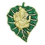 Frabjous Brass Ganesha God Idol Wall decor Pooja Accessories