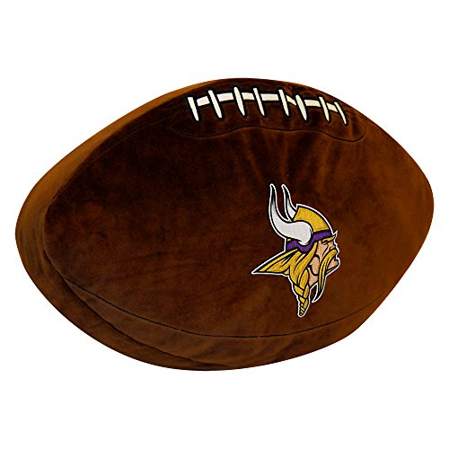 The Northwest Company NFL Minnesota Vikings 3D Sports Pillow