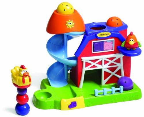 Infantino Drop and Slide Fun Farm