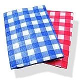 Flannel Back Tablecloth assorted colors 132cm x 178 cm Oblong