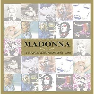 Madonna - 'Complete Studio Albums 1983-2008' (Import)