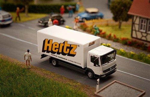 Faller 161560 Car System - Mb Atego Hertz Iv