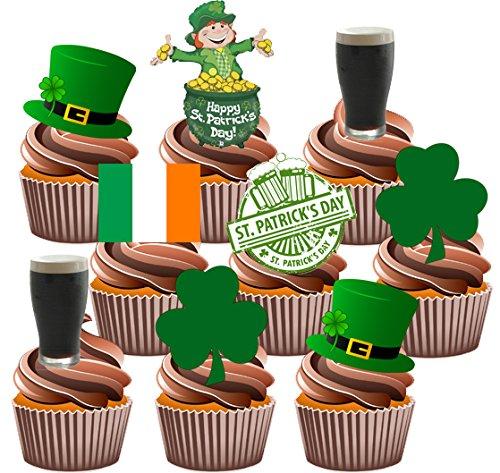 st-patricks-day-party-set-essbare-cupcake-dekoration-36-stuck