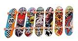 Mini-skateboards pour les doigts 9 cm avec accessoires Simba 103309701 - 8 motifs différents