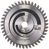 Bosch 2608640503 Lame de scie circulaire Multi Material 160 x 20/16 x 2,4 mm, 42, 1 pièce