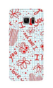 SWAG my CASE Printed Back Cover for Samsung Galaxy Note 7