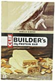 Clif Bar Builders Bar, Vanilla Almond, 2.4-Ounce Bars, 12 Count
