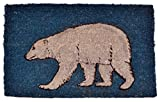 Imports Décor Polar Bear Printed Coir Doormat, 30 by 18 by 1-Inch