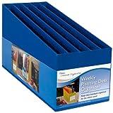 Mead Weekly Planning Desk Organizer, Blue (72308)