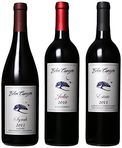 Eden Canyon Vineyards Current Releases, 3 X 750 Ml