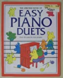 img - for The Usborne Book of Easy Piano Duets book / textbook / text book
