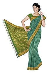 Srinidhi Silks Green Silk Sari (Ssi 2016 28 B)