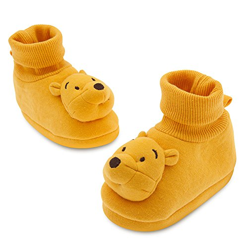 Disney Store Winnie the Pooh Plush Costume Sock Slippers Baby 0-6 Months (0-6m)