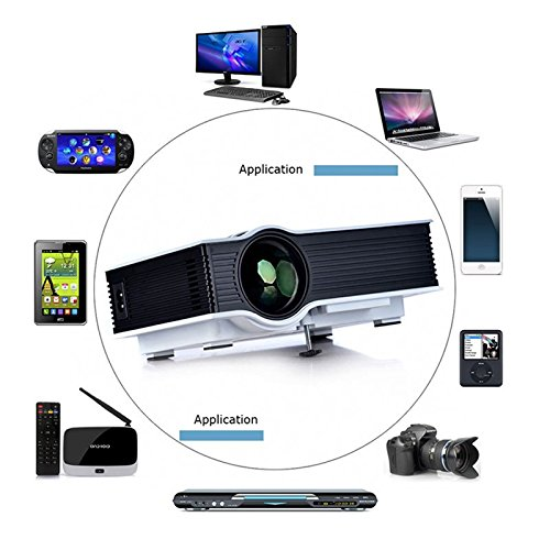 Multi media mini portable 800 lumens led video projector for Buy micro projector