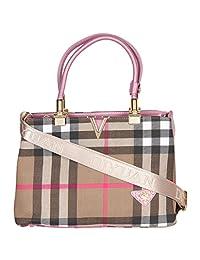 Rituwears Women's Handbag GOLD/BROWN 9221-GOLD/BROWN