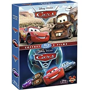 Coffret Cars + Cars 2 [Blu-ray]