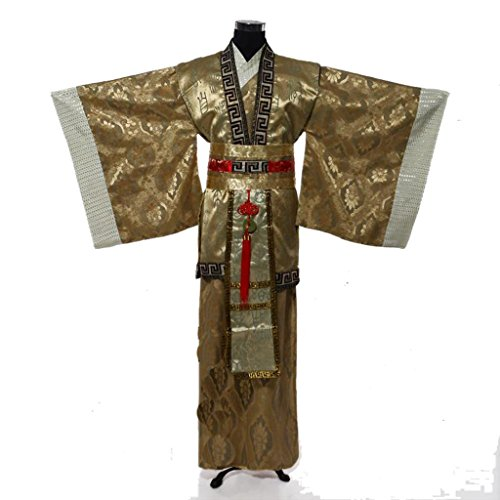 Chinese Ancient Stage Costumes Men's Minister National Halloween Cosplay