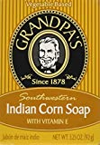 Grandpa's Grandpas Indian Corn Soap With Vitamin E 3.25 Oz