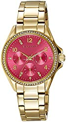 Giordano Analog Pink Dial Womens Watch - 2720-33