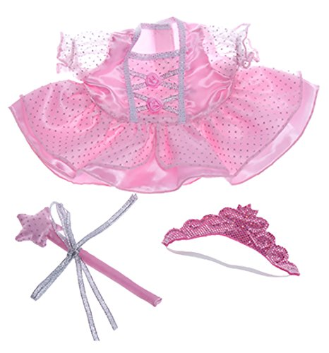 Fairy Princess Dress Wand, Tiara Fits Most Webkinz, Make Your Own Stuffed Animals - 1
