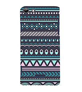 Tribal India Pattern 3D Hard Polycarbonate Designer Back Case Cover for Micromax Canvas Selfie 3 Q348