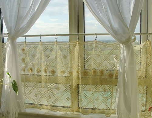 crochet lace curtains products - Buy cheap crochet lace curtains