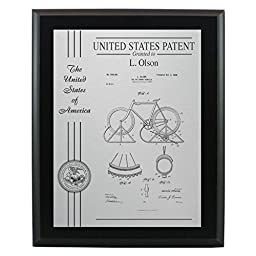 Patent Plaque Award - 10.5\