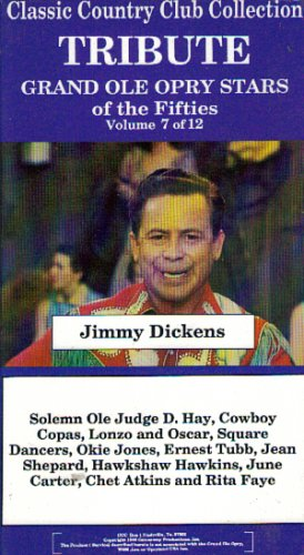 tribute-grand-ole-opry-stars-of-the-fifties-jimmy-dickins-volume-7-classic-country-club-collection
