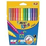 Bic Kids Visa rotuladores clasificado colorea 12 por paquete