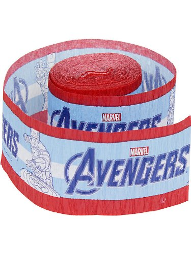 Avengers Crepe Paper Streamer (30ft)