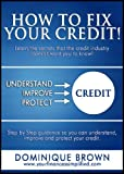51ywOCb1sjL. SL160  How To Fix Your Credit