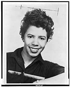 Photo: Lorraine Hansberry, 1959