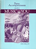 Piano Accompaniments Grade 4 - Music And You (0022940502) by Barbara Staton