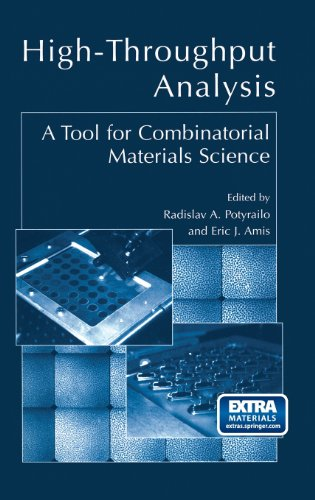 High-Throughput Analysis: A Tool for Combinatorial Materials Science
