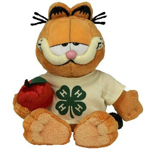 TY Beanie Baby - GARFIELD the 4-H Cat (4-H Exclusive) [Toy]
