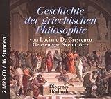 Geschichte der griechischen Philosophie - Luciano DeCrescenzo
