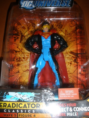 DC Universe Classics Series 5 Exclusive Action Figure Eradicator Build Metallo Piece! (Dc Universe Action Figures compare prices)